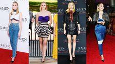 สะดวกแบบนี้! Sophie Turner ใส่ รองเท้าส้นสูง คู่เดิมโปรโมทหนัง X-Men ทั่วโลก