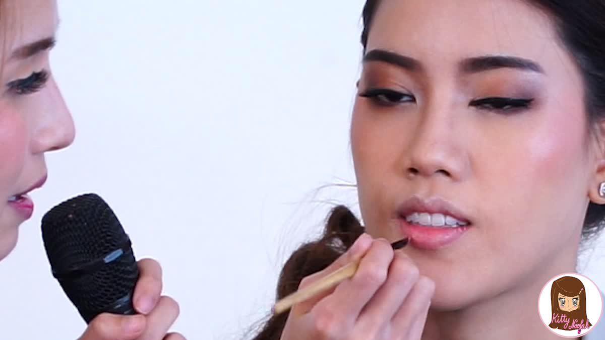 HOW TO : วิธีทาปากให้ดูอวบอิ่มแบบธรรมชาติ