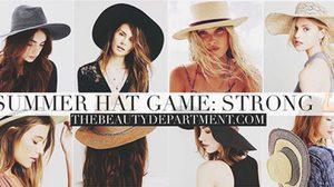 แฟชั่นหมวก สุดชิค สวยรับซัมเมอร์ แบบนี้ซิ…เริ่ด!