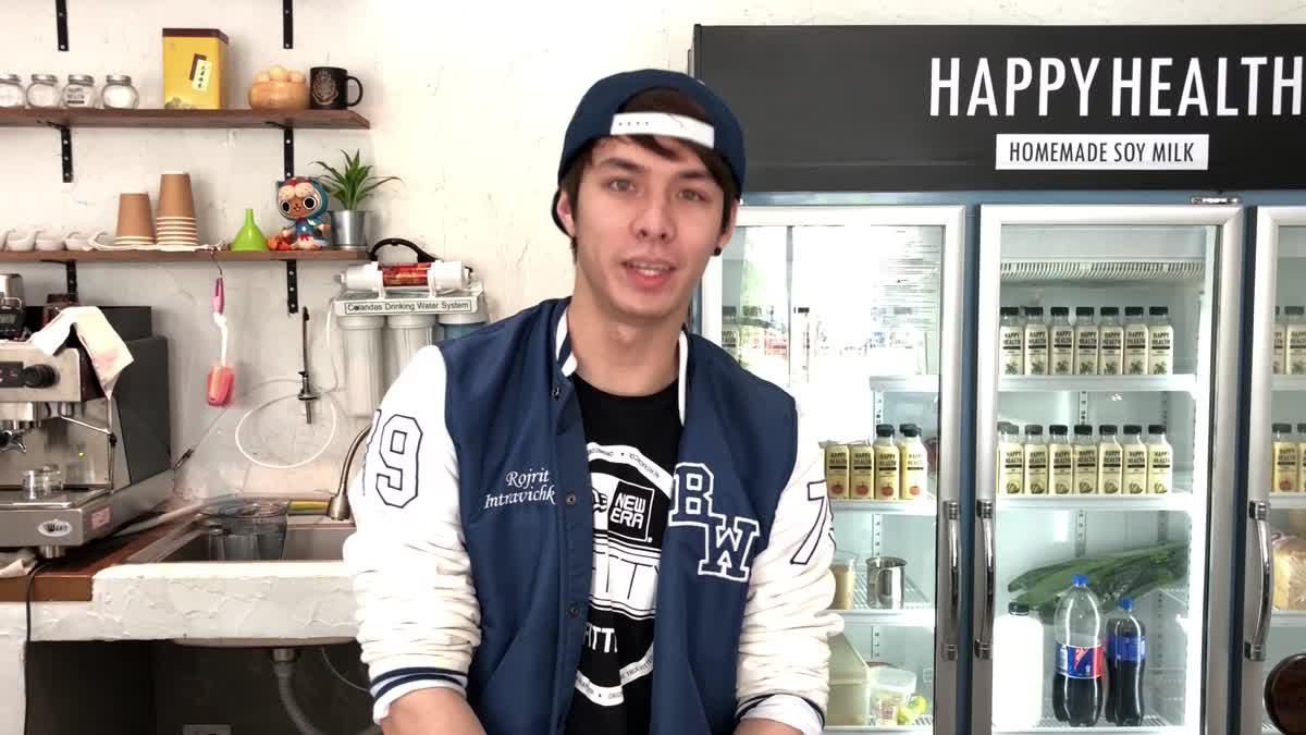 """คาเฟ่เล็กสุดอบอุ่น เจ้าของร้านแซ่บ กับ """"Happy Health Cafe"""""""