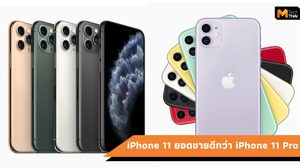 ยอดขาย iPhone 11 ดีกว่า iPhone 11 Pro ที่ประเทศสหรัฐอเมริกา