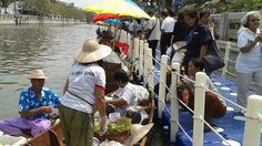 ชวนเที่ยววันนี้ ตลาดน้ำวิถีไทย คลองผดุงกรุงเกษม