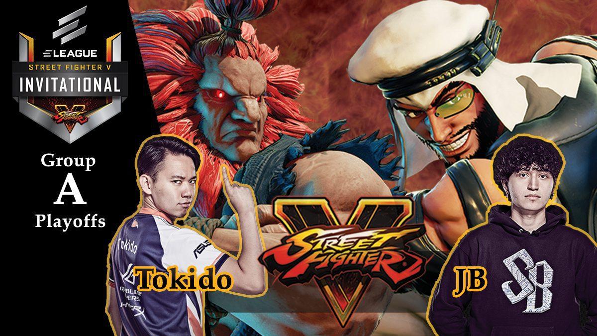 การแข่งขัน Street Fighter V | ระหว่าง Tokido vs JB [Group A]