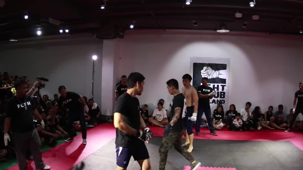 Fight Club Thailand 2017 (เก๋ารอบ) มาด เนเวอร์แบ็คดาวน์ x เสือเล็ก คู่ที่ 210