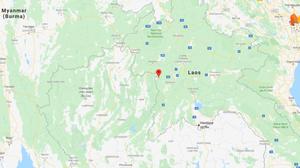 แผ่นดินไหวขนาด 6.4 ในประเทศลาว รับรู้ได้ถึงกรุงเทพ