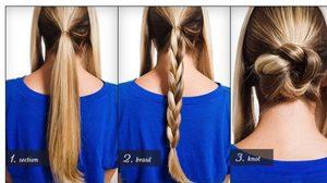 7 วิธีรวบผมง่ายๆ ทำเองได้ สำหรับ สาวผมยาว รับรองสวยเก๋!!