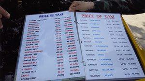 แฉ แท็กซี่เกาะสมุย คิดเงินแพงเป็นดอลล่า-ยูโร