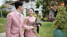 สวยหวานด้วยผ้าไทย ชุดเจ้าสาว เก๋ ณัฐวรรณ เรียบง่ายสไตล์โมเดิร์น