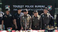 ตำรวจกวาดล้าง 12 จุด รวบ 18 ต่างชาติ หนีเข้าเมือง