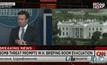 เว็บไซต์ CNN : โฆษกประจำทำเนียบขาว แถลงคนร้ายโทรศัพท์ขู่วางระเบิด