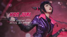 ยลโฉม Aza Miyuko สาวหน้าหวานคอสเพลย์ Juri Han ใน Street Fighter V