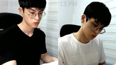 หนุ่มเกาหลีไลฟ์นั่งเรียนหนังสือ เงียบๆ คนเดียว แต่มีคนกดติดตามมากกว่า 3 แสนคน