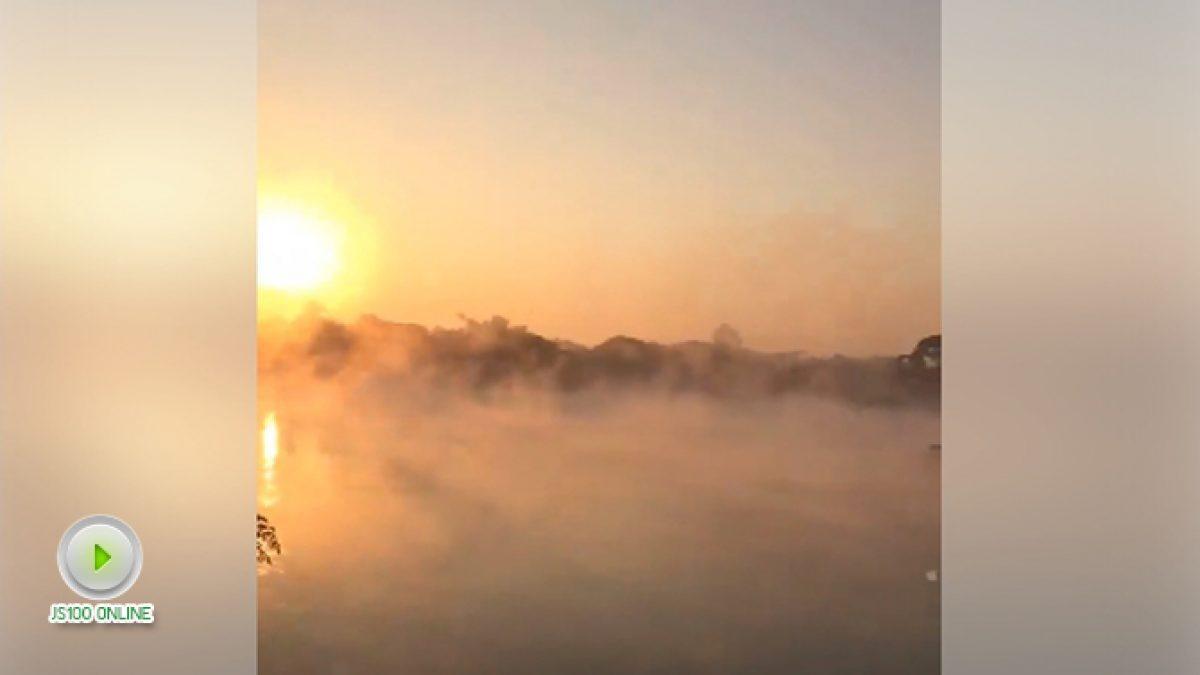 หมอกเช้าๆที่ ริมน้ำปิง จ.ตาก (21-12-60)