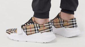 Burberry เปิดตัวรองเท้าผ้าใบ Vintage Check ได้แรงดาลใจมากจากความสวยงามบนรันเวย์