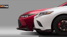 Toyota แง้มภาพทีเซอร์ Camry เเละ Avalon ในเวอร์ชั่นชุดแต่ง TRD