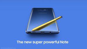 หลุด Samsung ปล่อยตัวอย่างวิดีโอตัวใหม่ของ Galaxy Note 9
