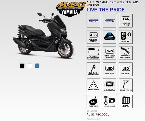 News Yamaha Nmax155