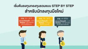 เริ่มต้นลงทุนกองทุนรวมแบบ Step by Step สำหรับนักลงทุนมือใหม่