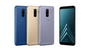 Samsung Galaxy A6 และ A6+ เปิดตัวพร้อมกล้องคู่ เซลฟี่สวยด้วยไฟแฟลช