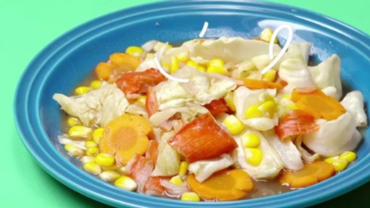 สูตร ผัดผักไมโครเวฟ ง่ายสุด แถมประหยัดเวลา