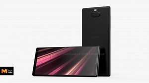 หลุดภาพเรนเดอร์ Sony XA3 Ultra มากับจอยักษ์ไร้กรอบ 6.5 นิ้ว