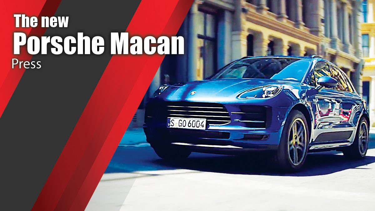 The new Porsche Macan Press