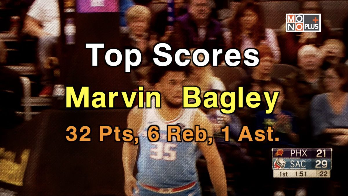 HIGH SCORE Marvin Bagley III 32 PTS 6 REB 1 AST