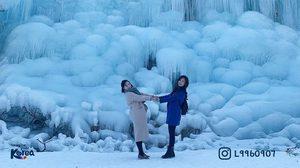 """เที่ยวหน้าหนาว """"น้ำพุน้ำแข็งชิลกับซาน"""" หนาว สนุก อิ่ม ครบจบในที่เดียว!"""
