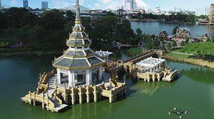"""แต่งไทยย้อนยุคไปเที่ยวงาน """"วัฒนธรรมสองฝั่งเจ้าพระยา มหาเจษฎาบดินทร์"""" ปี 2562 จ.นนทบุรี"""