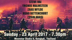 GENERATION AXE – A Night of Guitars Asia Tour 2017 Live Concert in Bangkok