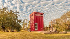 บ้านแคบ แค่ 9 ตารางเมตรก็เป๊ะได้ด้วยการออกแบบในแนวตั้ง