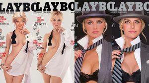 7 นางแบบเพลย์เมตรุ่นคลาสสิค ถ่ายปก Playboy ใหม่ ในท่าเดิมมุมเดิม