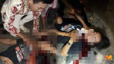 โจ๋ศรีสะเกษเลือดร้อน ยิงอริกลางงานหมอลำซิ่ง พลาดถูกชาวบ้านบาดเจ็บ