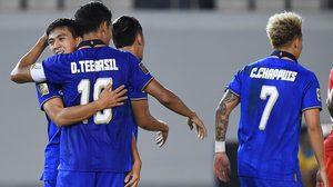 ผลบอล: ต้องรอถึงท้ายเกม! ศราวุฒิ โขกชัยพา ทีมชาติไทย เฉือน สิงคโปร์ 1-0 ซูซูกิ คัพ