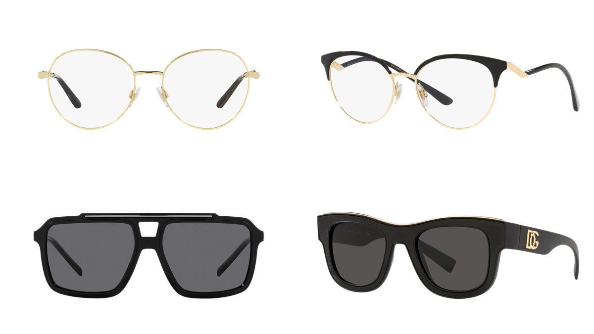 6 แว่นตา Dolce & Gabbana SS 2021 สำหรับผู้หญิงและผู้ชาย