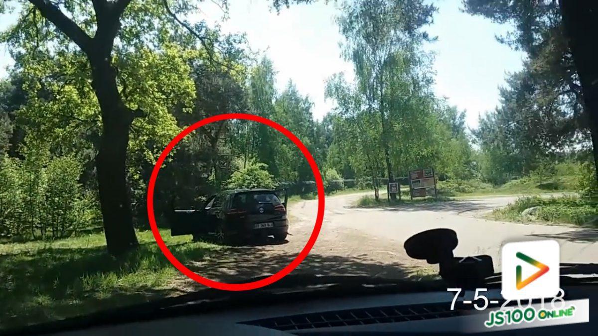 แหกกฎ!! ลงจากรถอุ้มลูกถ่ายรูป..เจอฝูงเสือซีตารห์วิ่งไล่!! (11-5-61)