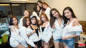 รวมภาพบรรยากาศ ปาร์ตี้ฉลองปีใหม่ของสาว ๆ RUSH Sassy Club 2017