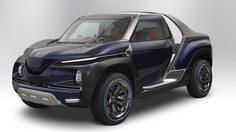 Yamaha Cross Hub Concept กระบะต้นแบบ 4 ล้อ