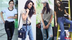 Simple look มันก็ง่ายดีนะ กางเกงยีนส์เสื้อยืด สร้างลุคสวยเท่อย่างมีสไตล์