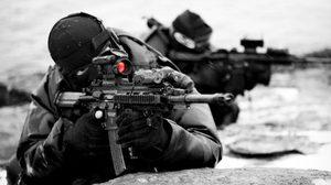 HK 416 Airsoft Gun ปืนดีเสมือนจริงแต่งเท่ครบองค์ประกอบ