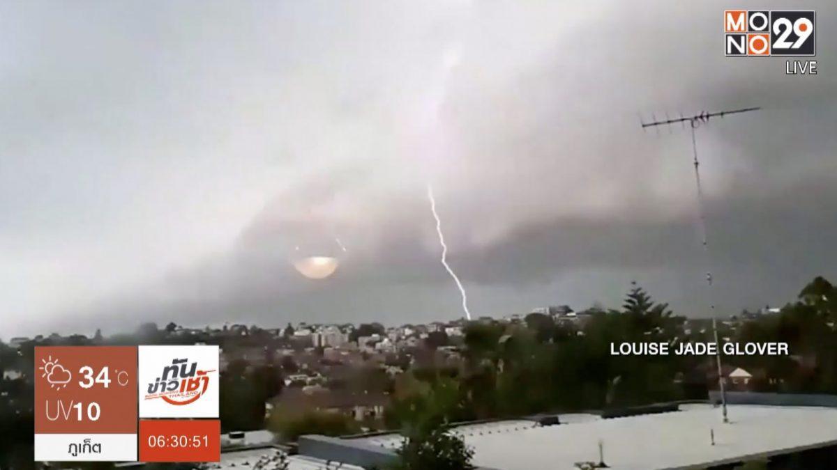 เกิดฟ้าผ่าในออสเตรเลียกว่า 3 แสนครั้ง