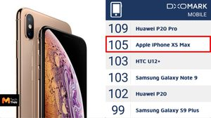 iPhone XS Max ขึ้นแท่นอันดับ 2 สมาร์ทโฟนกล้องดีที่สุดในโลก