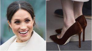 เหตุผลที่ เมแกน มาร์เคิล ต้องใส่รองเท้าไซส์ใหญ่กว่าเท้าจริง!!