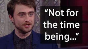 ไม่ใช่เร็ว ๆ นี้…แดเนียล แรดคลิฟฟ์ เปิดใจ ทำไมไม่ไปดู Harry Potter and the Cursed Child