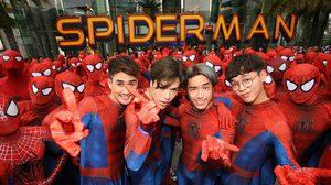 รวมพล Spider-Man!! แฟนพันธุ์แท้มนุษย์แมงมุมทั่วฟ้าเมืองไทย ร่วมกิจกรรมโชว์พลังกลางลานพาร์คพารากอน