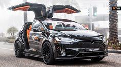 Tesla Model X T Largo รถยนต์ไฟฟ้า ลำตัวยาวมาดอเนกประสงค์