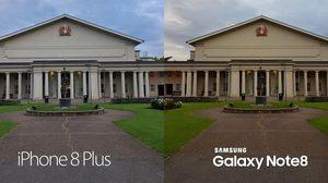 วัดพลังกล้อง iPhone 8 Plus กับ Galaxy Note 8 ทั้งกล้องหน้า-หลัง ตัดสินใจกันเอง!!