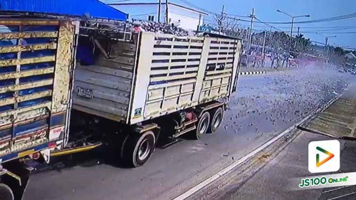 อีกหนึ่งเหตุผล ทำไมถึงไม่ควรขับจี้ท้ายรถบรรทุก.. (21/01/2020)