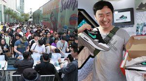 ภาพบรรยากาศการเปิดตัว Nike Air Max 1 atmos Elephant ครั้งแรกในเมืองไทย