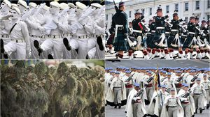 สีสันชุดทหาร ของต่างประเทศ